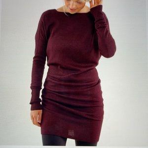 Lululemon Serenity Sweater Wrap Dress